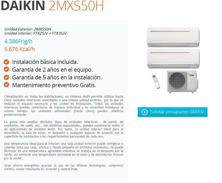 2 estancias 12 26 m daikin instaladores de aire